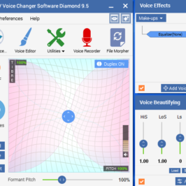 How to sing on Kanto Karaoke in different voices with Voice Changer Software Diamond